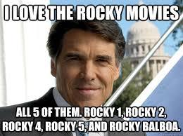 Rocky Meme - i love the rocky movies all 5 of them rocky 1 rocky 2 rocky 4