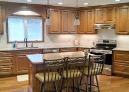 stain colors for oak kitchen cabinets how to choose the right wood and stain for your kitchen cabinets