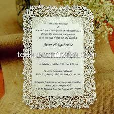 Islamic Wedding Cards Aliexpress Com Buy Laser Cut Rose Vine Wedding Invitation Card