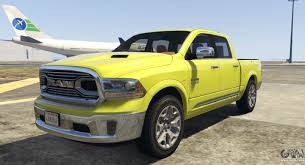 Dodge Ram Limited - dodge ram limited 2016 for gta 5