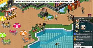 Blockers Uk Me Hiding On The Habbo Hotel Uk Blockers In Afros And Su Flickr