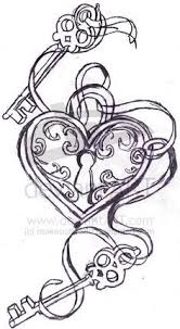 Locket Tattoo Ideas Heart Locket Tattoos Heart Locket And Wings Tattoo Design