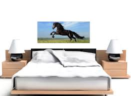 wide canvas art horse for your girls bedroom overall size