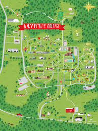 Michigan State Campus Map by Illustrated Campus Map By Nate Padavick For Hampshire College