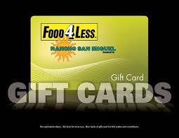 gift cards food 4 less