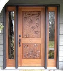 Wooden Main Door Creative Of Wooden Front Door Design 58 Types Of Front Door