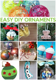 easy diy ornaments a craft in your day