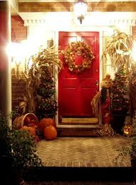 Fall Decorated Porches - the porch for halloween