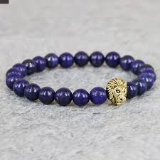 bracelet design beads images 2015 new design gem beaded bracelets 8mm blue lapis lazuli stone jpg