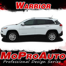 2017 jeep cherokee sport 2014 2017 jeep cherokee warrior 3m pro vinyl graphics stripes