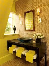 bathroom designs yellow bathroom decor ideas with honeycomb tile