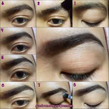How To Color In Eyebrows No Plucking Eyebrows U2013 World Novelties Makeup 2017