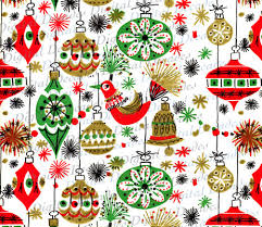 vintage wrapping paper a cool yule