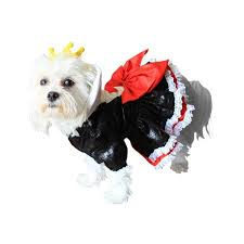 amazon com queen of hearts dog costume size large clothing