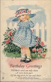 vintage cards antique greeting cards 75 best vintage birthday images on