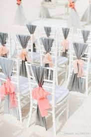 chair sash ideas 20 creative diy wedding chair ideas with satin sash