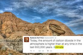 Bad Lands Badlands National Park Stood Up To Trump Where It Hurts U2014on Twitter