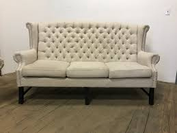 Gordon Tufted Sofa by Cooldesign Linen Tufted Sofa Cochabamba