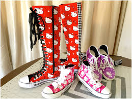 Hello Kitty Halloween Fabric by How To Sew Custom Canvas Shoes Using Your Own Fabric Rory Mullen