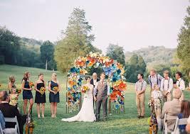 wedding arches flowers colorful paper flower wedding caitlyn joe green wedding shoes