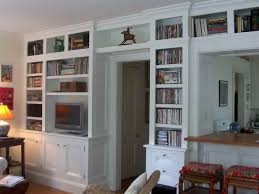 Wall To Wall Bookcases Wall Units Amazing White Built In Bookcases Ana White Built In