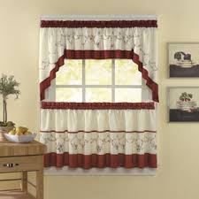 Daisy Kitchen Curtains by Top Product Reviews For Burgundy Country Style Kitchen Curtains
