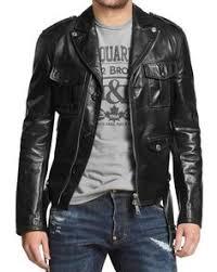 mens leather jackets black friday details about mens leather jacket black slim fit biker motorcycle