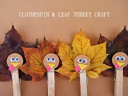 clothespin leaf turkey craft turkey craft clothespins and