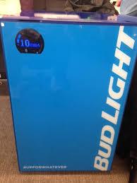 bud light for sale here s bud light s 299 smart fridge agencyspy
