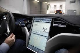 Tesla Interior Model S Test Driving The Latest Tesla Model S 70d Gadgetzz
