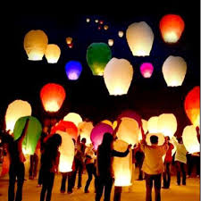 luck lanterns sky lantern tradition to send your wishes for luck