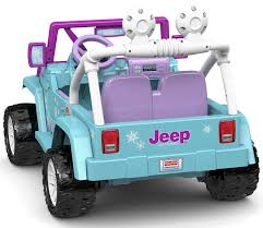 barbie power wheels fisher price disney frozen wrangler jeep walmart canada