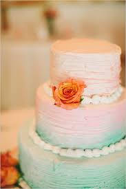 peach ombre wedding cake take your time diy wedding wedding cake peach and cake