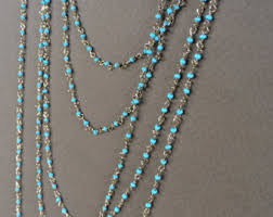 chain necklace with beads images Jewelry making beading etsy jpg