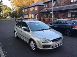 ford focus 2005 silver colour 1 5cc diesel manual