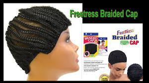 crochet style on balding hair cornrow cap freetress youtube