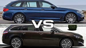 peugeot executive car 2017 bmw 5 series touring vs 2016 peugeot 508 sw youtube