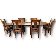 Dining Room Table 6 Chairs by Nichols U0026 Stone Dining Table With 6 Chairs Upscale Consignment