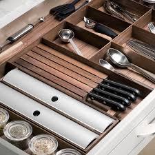 kitchen cabinet knife drawer organizers hafele fineline kitchen and plate organizer knife holder 556 91