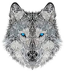 alpha wolf idea blank canvas alpha wolf