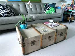 vintage trunk coffee table vintage trunk coffee table psgraphicdesign co
