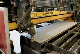steel fabrication equipment at lakeside steel cnc powder