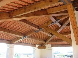 tetto padiglione tetti e solai in legno