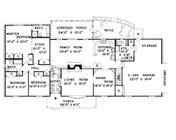 colonial plans house plan 9850 at familyhomeplans
