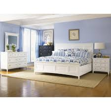 magnussen 4pc kentwood queen size bedroom set in white finish for