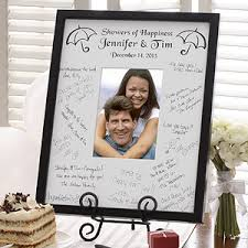 wedding autograph frame showers of happiness signature mat frame a great bridal shower