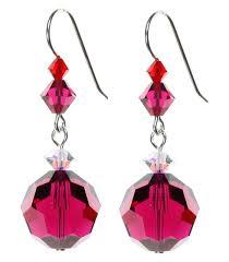 s birthstone earrings july birthstone earrings ruby earrings