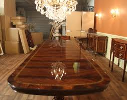 Dining Room  Minimalist Teak Dining Table Large Dining Room Table - Mansion dining room