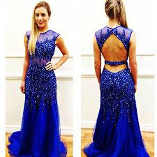 charming prom dress blue prom dress long prom dresses evening