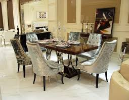 Marble Top Rectangular Modern Dining Table And ChairsLuxury High - Luxury dining room furniture
